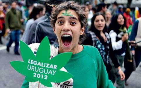 Uruguai está a um passo da descriminalização da maconha