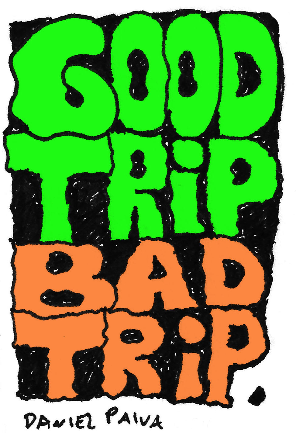 Quadrinhos Canábicos #46: Good Trip Bad Trip