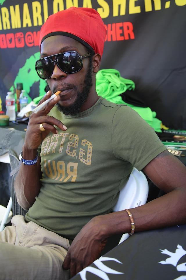 Marlon Asher Ganja Farmer