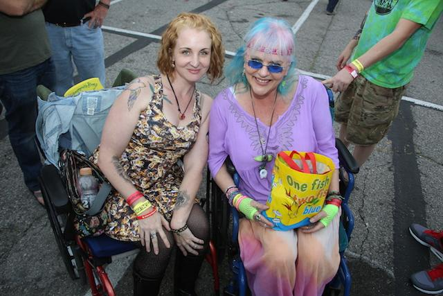 Wheelchair attendees