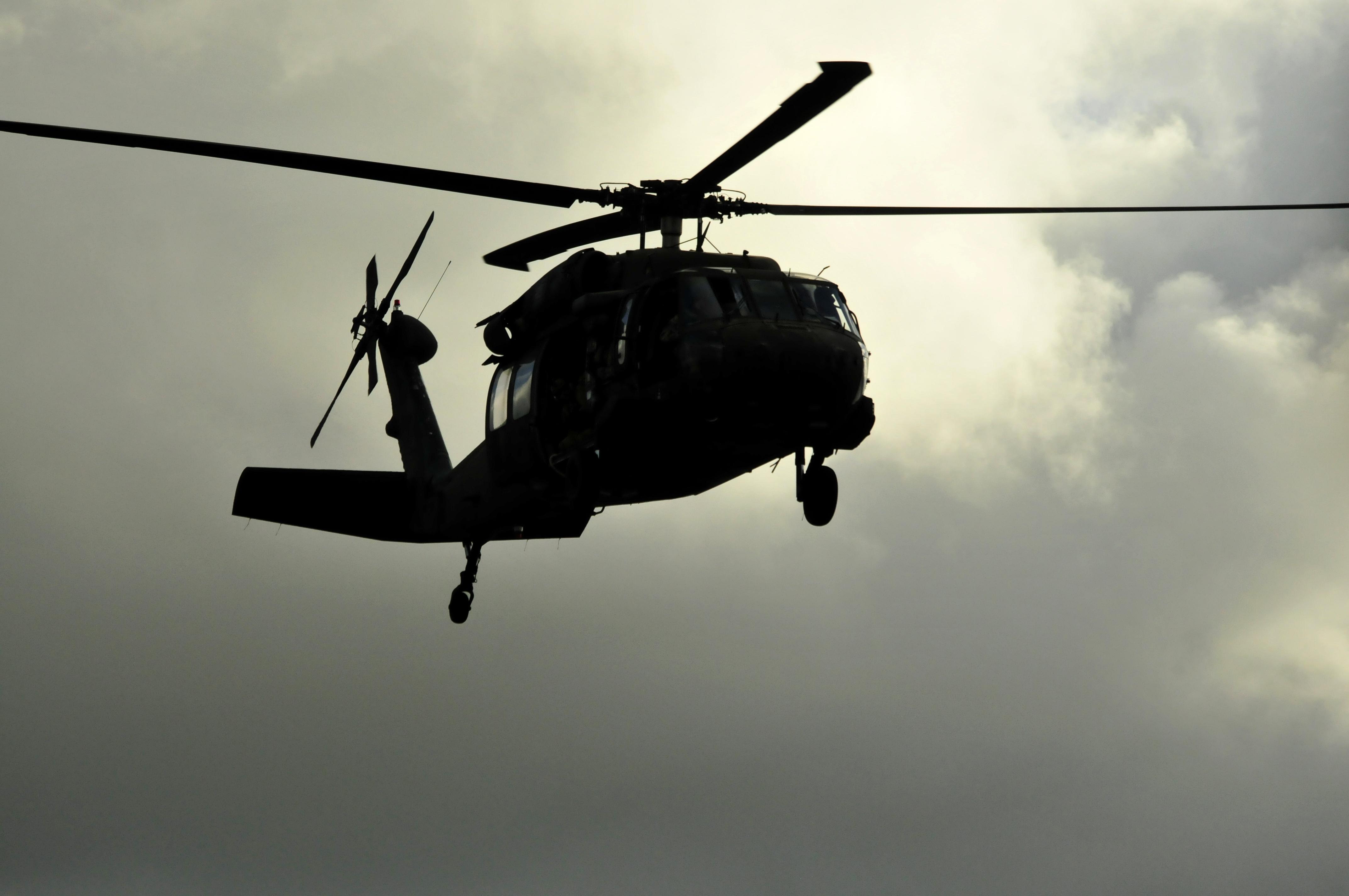 Helicóptero carregado de haxixe cai na Espanha