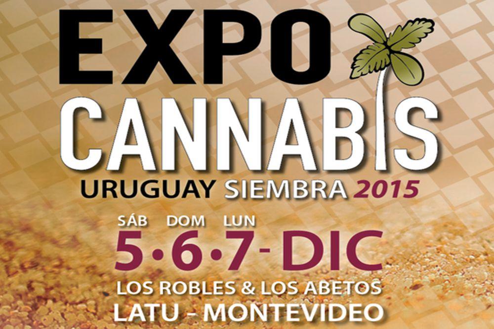 Maryjuana na ExpoCannabis Uruguay 2015