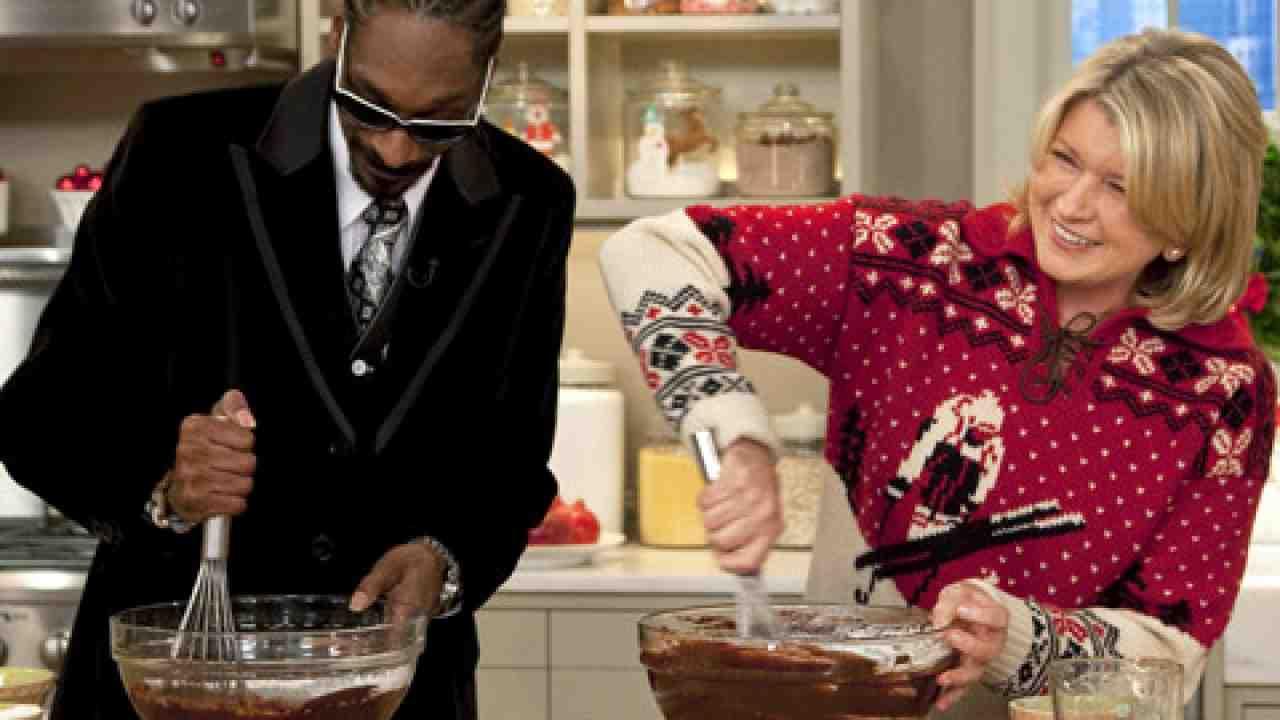 Snoop Dogg e Martha Stewart apresentarão programa de gastronomia