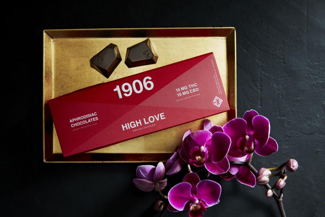 Chocolate com mix de maconha e ervas medicinais promete efeitos afrodisíacos