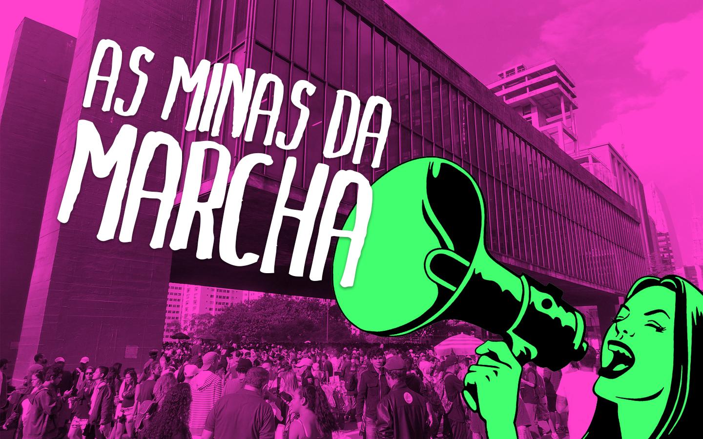 Mulheres comparecem em peso à Marcha da Maconha São Paulo 2018