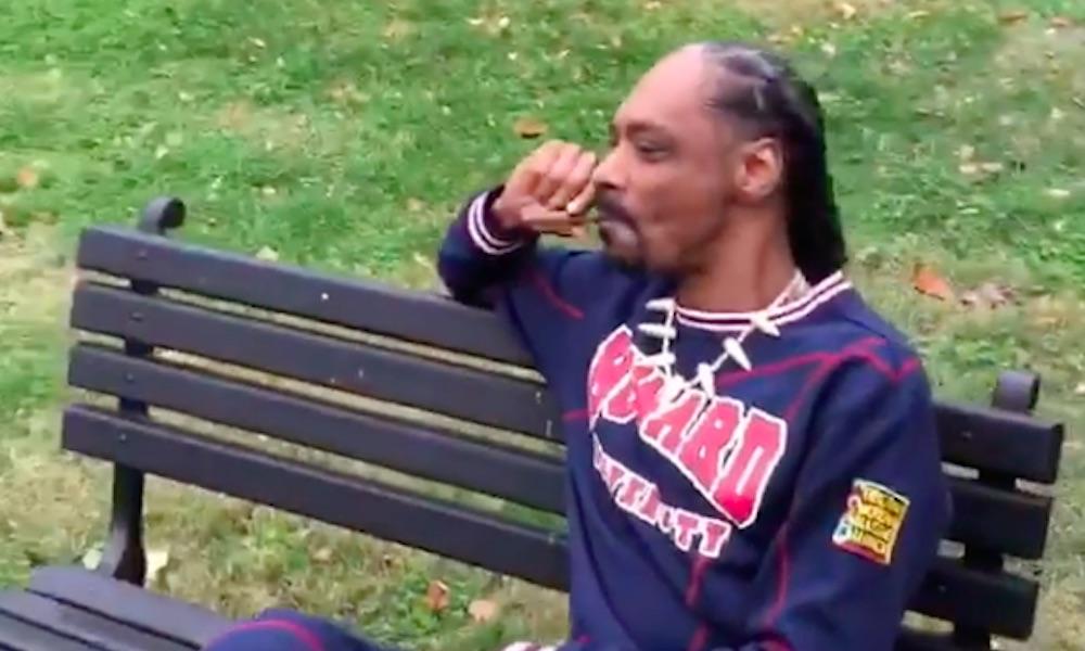 """""""Fuck the president"""": Snoop Dogg legaliza em frente à Casa Branca"""