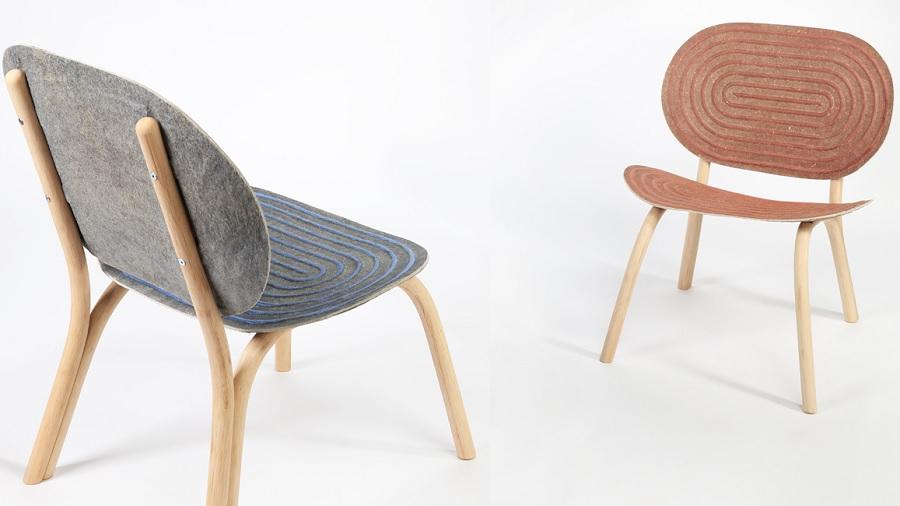 Cadeira feita com maconha é premiada na Semana do Design de Milão